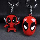 Marvel Superhero Cute Deadpool Alloy Key Chains Keychain Keyfob Keyring Gifts