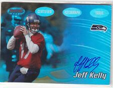 2002 TOPPS FOOTBALL JEFF KELLY AUTHENTIC AUTOGRAPH CARD