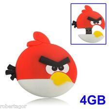 PENDRIVE FLASH DRIVE PENNA USB 4GB 4 GB ANGRY BIRDS PEN DRIVE MEMORIA