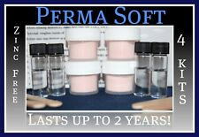 Perma Soft Reline~Denture Adhesive Alternative!~4 kits~False Teeth Reliner~Liner