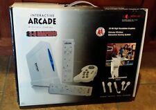 Interactive Arcade wireless gaming. 3D graphcs 8 hyper sports 33 arcade games.