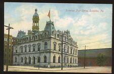 USA PA. SCRANTON Post Office vintage PPC