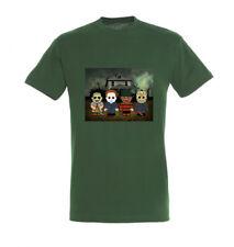 Toonstar Cartoon T-Shirt Horror -  verde militare |  small