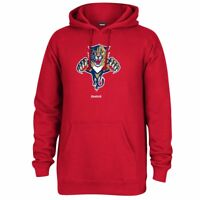 """Florida Panthers NHL Reebok Red Primary Logo """"Jersey Crest"""" Pullover Hoodie"""