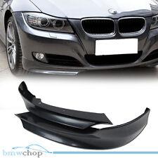 Unpainted BMW E90 LCI OE-Style Sedan Front Lip Splitter Bumper 09-11
