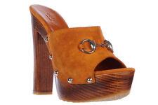 Gucci Suede Block Heels for Women