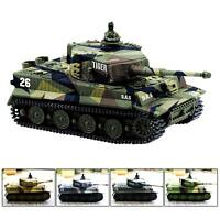 1:72 Radio Remote Control Battle Tank Mini RC German Tiger I Tank With Sound Toy
