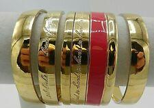 Lot of 7 Kate Spade Gold Bangle Bracelets