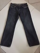 LA VAE Designer Mens Jeans Measured 34X31.5 Straight Blue Tag34X32