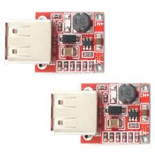 2pcs DC Boost Module 3.7V 1-5V Input 5V 1.5A USB Output Up to 96% Efficiency