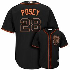 Buster Posey SF Giants Infants 24 Months Black MLB Majestic Cool Base Jersey $35