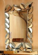Large Silver Leaf Mirror 1.2m x 82cm-  *** FREE DELIVERY***