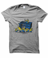 Despicable me Minions Dr Who Inspired T-Shirt Funny Doctor Movie Adults