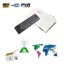 1080P ISDB-T Digital Terrestrial Converter TV BOX Receiver PVR + 5dBi Antenna