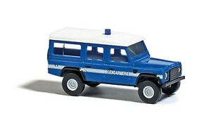 """BUSCH Spur N 8378 Land Rover """"Gendarmerie"""" #NEU in OVP#"""