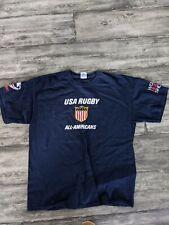 USA Rugby All American Shirt XL Navy Blue