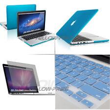 "3 IN 1 Hard Rubberized Case Keyboard Cover For Macbook Pro w/ Retina 13"" Laptop"