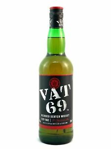 VAT 69 Finest Scotch Whisky 0,7l, alc. 40 Vol.-%, Blended Scotch Whisky
