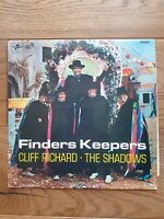 Cliff Richard •The Shadows Finders Keepers  Columbia  SX 6079 Vinyl LP Album