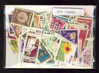 Israel 200 sellos diferentes