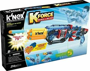 K'NEX K Force K-25X Rotoshot Blaster Building Set New Kids Toy Gun Gift Age 8+