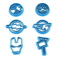 2017 Pop Cookie Cutter Set Captain America,Iron Man,Avengers,Thor,Flash,Shied S