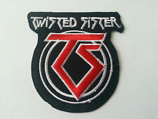 Twisted Sister Sew or Iron On Patch