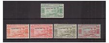 New Hebrides SG FD65/9 - l/m - 1938 - 5c - 1f - postage dues
