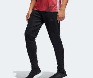 adidas Tiro 19 Training Pants Mens New AeroReady Soccer Solid Black Slim Fit