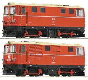 Roco HOe 33305 - Diesellok 2095.07, ÖBB, Pflatsch und Flügelrad, NEUHEIT selten