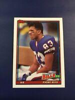 1991 Topps # 54 ANDRE REED Buffalo Bills HOFER Sharp LOOK !