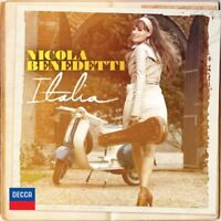 Italia (CD, Oct-2011, Decca) New, with extra signed cover art
