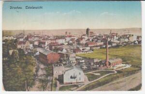 Ansichtskarte  Pommern  Dirschau  1917  Totalansicht  Fabriken  etc.