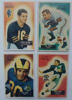 GEORGE BLANDA 1955 Bowman 4 Card Lot FEARS, GROZA, & DUPRE RC