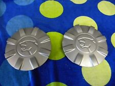 1990 - 1997 Mercury Cougar -- Wheel Center Caps -- 1 pair -- Silver