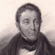 Portrait 1800's louis crespel delisse sugar beets lille nord picardie 1836