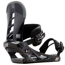 K2 Snowboard Bindung, Snowboardbindung INDY Gr: XL / 44,5 bis 50  black 2016/17