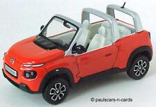 Voitures, camions et fourgons miniatures orange moulé sous pression pour Citroën