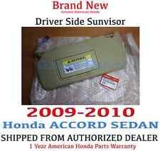 2009- 2010 Honda ACCORD SEDAN Driver Side Sunvisor PEARL IVORY (83280-TA5-A51ZB)