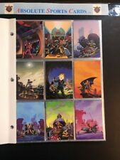 1993 RICHARD HESCOX FPG FABTASY ART 90 CARD SET PLUS FLIERS OF ANTARES