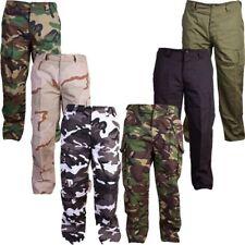 Pantaloni da uomo Verde regolare in cotone