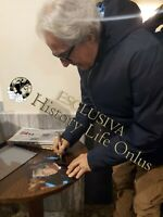 Foto autografata Tullio Solenghi Signed Photo Autografo ITP Cinema