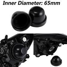 2Pc dust boot Inner Dia Rubber Housing Seal Cap Dust Cover for Car LED Headlight