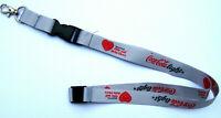 Coca Cola light Initiative Hör auf Dein Herz Schlüsselband Lanyard NEU (Z17)