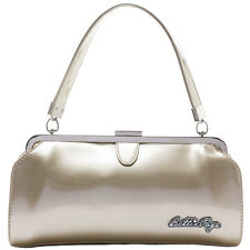 Sourpuss Bettie Page Cover Girl Purse Gold Retro Vintage Rockabilly Pin Up