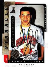 1996-97 Be A Player Link to History Auto #01A Jarome Iginla