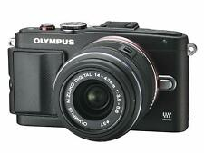 Olympus Pen E-PL6 Compact System Camera -Black (16.1 MP,14-42mm) Touch Panel LCD
