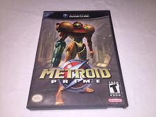 Metroid Prime (Nintendo GameCube) Black Label Original Complete Excellent!