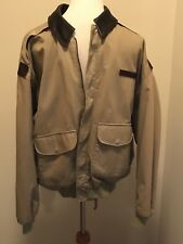 Avirex A-2 Flight Jacket Army Air Forces Full Sail Real World Squadron Men's Lg