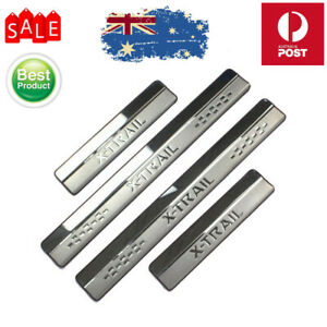 Door Sill Scuff Plate Protector Stainless Steel For Nissan X-trail 2014-2020